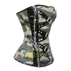 Camouflage Corsets