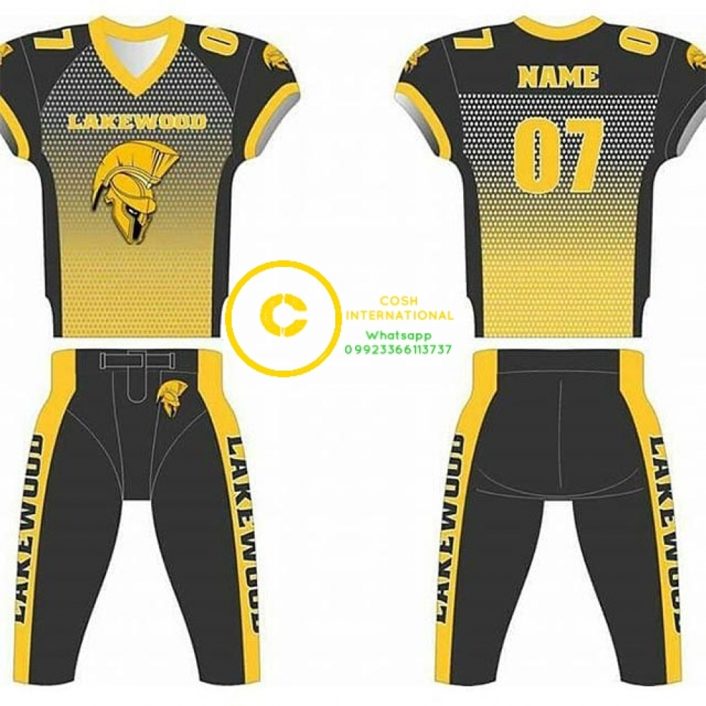 Professional Custom Sublimated American Jersey