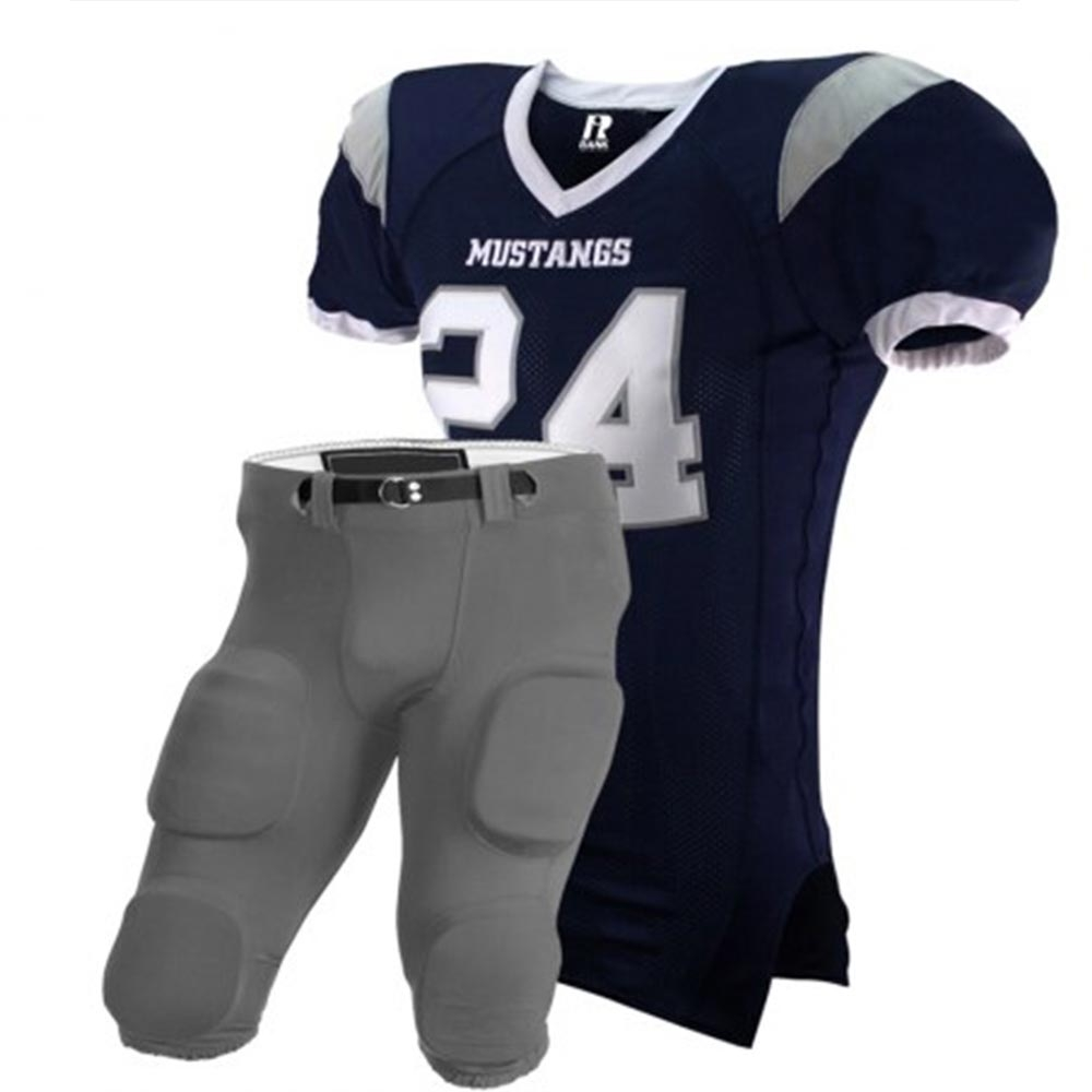 Spandex Mesh American Football Unifom