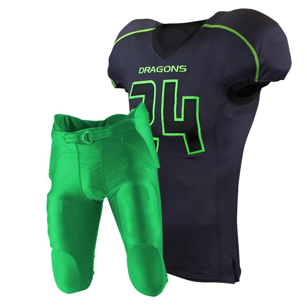Custom Made High Quality American Football Uniform
